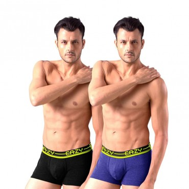 Men's Trunk Slim Fit Solid Innerwear(pack of 2 pieces)