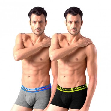 Men's Trunk Slim Fit Solid Innerwear(pack of 4 pieces)