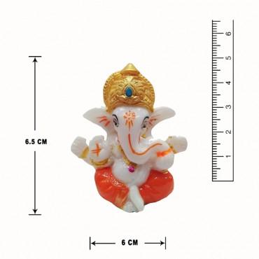 Handmade Gajanan Maharaj Resin Idol