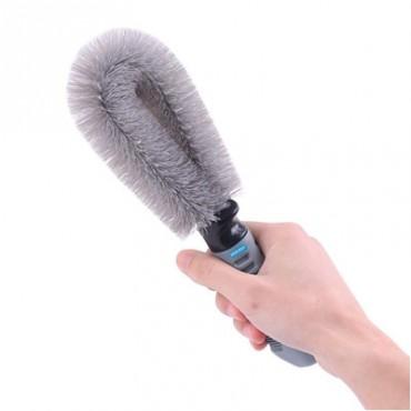 Sky Car Alloy Wheel Rim Brush Hub Clean Wash Useful Brush Car, Truck, Motorcycle, Bike, Washing Cleaning Tool