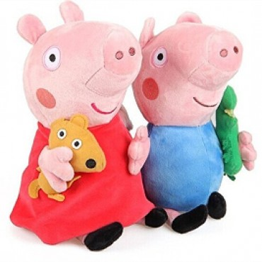 19cm Cute Pig Plush Soft Toy Action Figure Cute Gifts for Kids (Set of 2pcs)