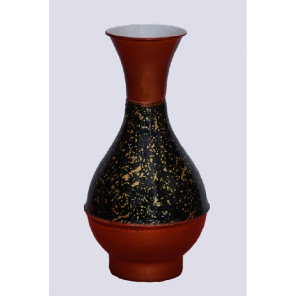 BGSA Blossom Flower Pot Home Decorative Flower Pot (Metal) L X H X W- 10X20X10 CM-02