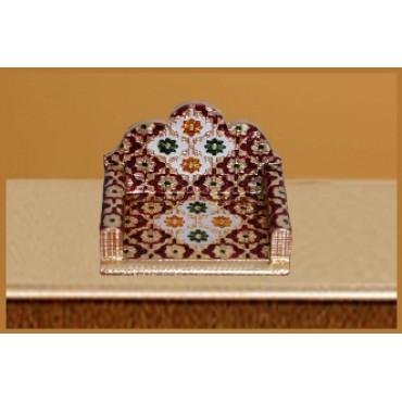 BGSA Laddu Gopal | GOD MEENAKARI SINGHASAN || HANDICRAFTED SINGHASAN || BAL Gopal SINGHASAN || SINGHASAN for Pooja || JANMASHTAMI || LALA || THAKURJI SINGHASAN || 6x4.5x4.5 inchSize ||