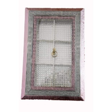 BGSA Rectangular Designer, Decorative, Handicraft Empty Dry Fruit Gift Box/Marrige Gift Box/Wooden Dry Fruit Box/Sweets Box/Gift Box, Supari Box (six Section Box)