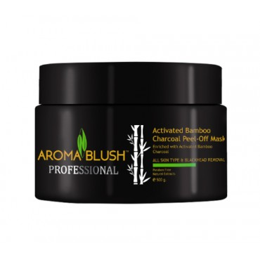 ACTIVATED BAMBOO CHARCOAL PEEL OFF MASK (500gm)