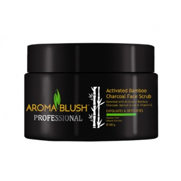 ACTIVATED BAMBOO CHARCOAL FACE SCRUB (500gm)