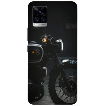 BMB Shoppe Bullet Bike face Printed Soft Designer Mobile Back Cover for Vivo V20 Pro