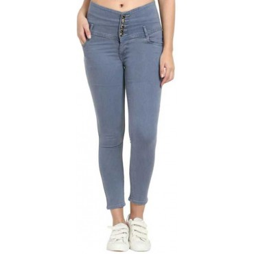 Skinny Women Grey Jeans