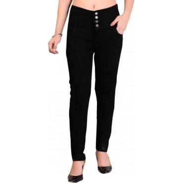 Super Skinny Women Black Jeans