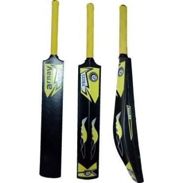 Arnav Bigger Edge 2.5 Inch Full Size Hard PVC/Plastic Cricket Bat