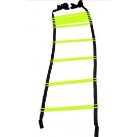 Arnav 16 Rungs Adjustable Soccer Speed Agility Training Ladder 4/ 6/ 8 m Long with Carry Bag