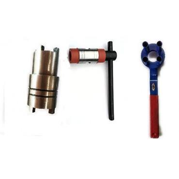 Arnav 3Pieces Set Hero Honda Splendor-CD100 Tools Clutch Nut (Goti) Spanner-Magnet Puller Tool-4Pin Clutch Holder Tool Made on CNC Machine Hardened and Tempered Steel
