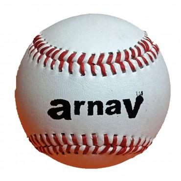 Arnav Baseball Ball Leather Official Size (9 Inch) Hand Made