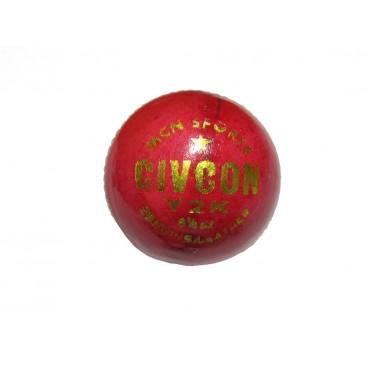 arnav CIVCON Genuine VIJARABADI Leather Cricket Ball for 20-20 Match