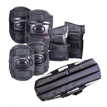 Cycling Kit Skating Protection Guard Set (Head/Knee/Elbow & Palm Guard/ Set of 7 Pcs)