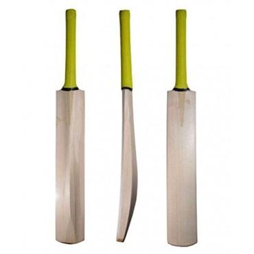 Arnav Nude Kashmir Willow Cricket bat with Half Cane Handle (Size : Short Hande 33 Inch)