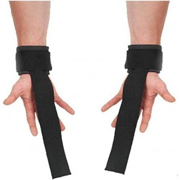 Arnav Wrist Support Weight Lifting Bar Straps with Wrist Support Wraps, Gym Workout, Bodybuilding, Powerlifting, Strength Training for Men & Women