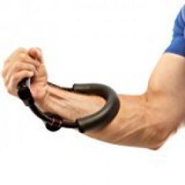 Arnav Advance Pro Imported Power Wrist Gym Power Wrist Strength Training Arm Exercise High Elasticity Fitness Equipment Black Stainless Steel Power Wrists