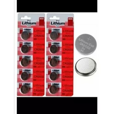 Multipurpose Lithium cell cr2032,used in various electronic products.