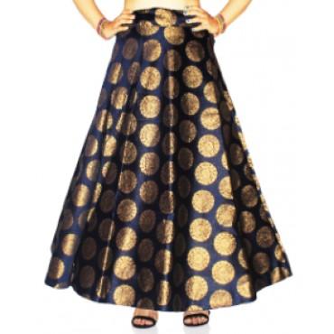 Brocade fabric skirts/lehenga for womens and girls-148