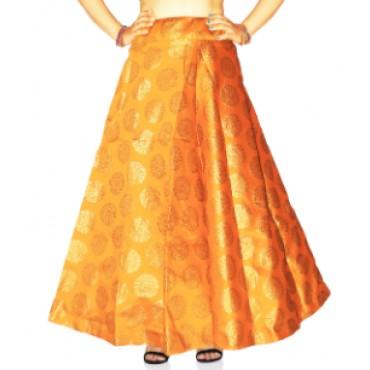 Brocade fabric skirts/lehenga for womens and girls-149