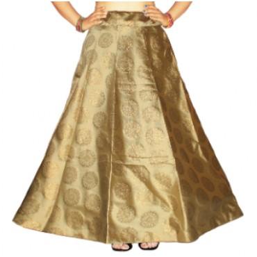Brocade fabric skirts/lehenga for womens and girls-152