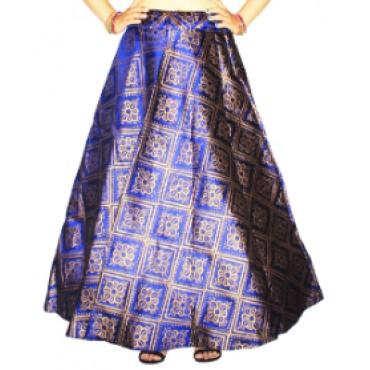 Brocade fabric skirts/lehenga for womens and girls-156