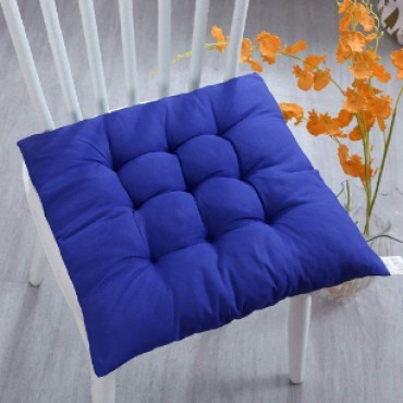 Chair Pad Cushion for Home Use and Multipurpose Use (Set of 1) (15 x 15 Inches (Quilted Cushion)