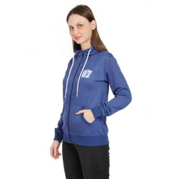 blueFull Sleeve Women Sweatshirt