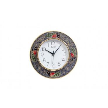 Handpainted artwork  wall clock