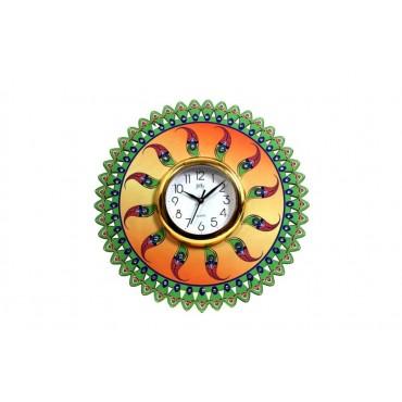 Designer wall clock print