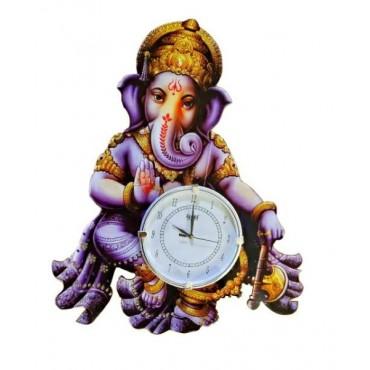 Beautiful Ganesha wall clock