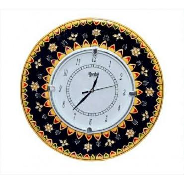 Kangarooo Handpainted wall clock