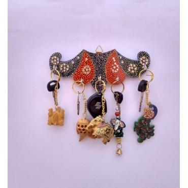 Handpainted key hanger
