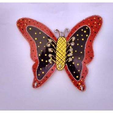 Butterfly Handpainted key hanger