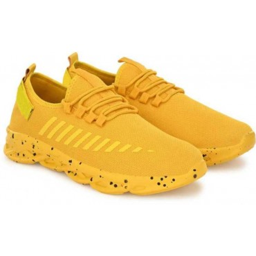 Casual sneakers and loafers shoes  Training & Gym Shoes For Men  (Yellow)