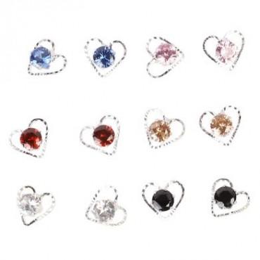 NFI essentials Ear Rings set of 6 pair