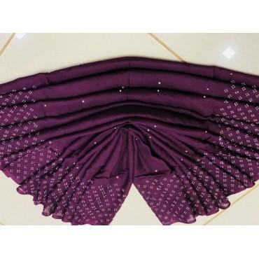 Chiffon butte floral prints hijab