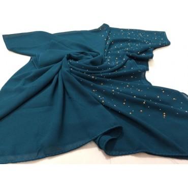 Chiffon dew drops hijab