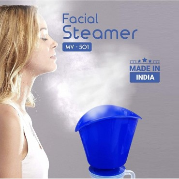 Face, Nose, And Cough Steamer 3 In 1 Plastic Steam Vaporizer