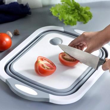 Foldable Multi Function Chopping Board