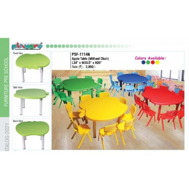 Apple kids table (without chair)