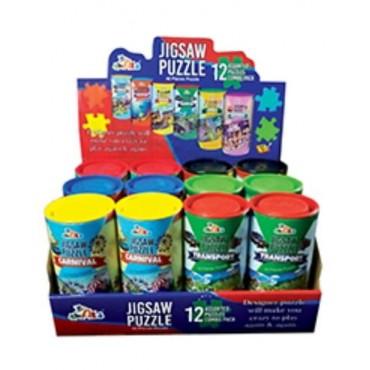 Bucket Jigsaw Puzzle Round Box