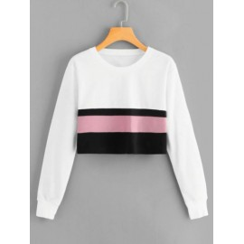 Women's trendy soft Round neck T-Shirts with full sleeves