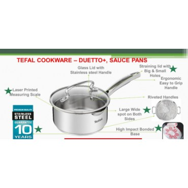 <h3><strong>Tefal cookware Saucepan 16cm</strong></h3><br> <p>     </p>        <p>Delivery charges will be applicable</p>