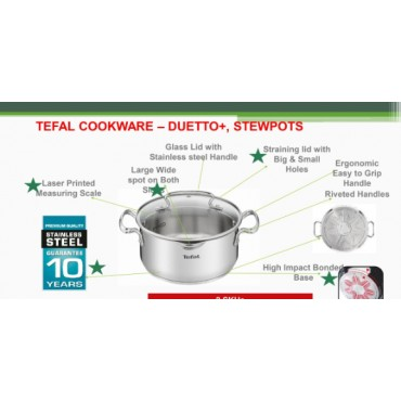 <h3><strong>Tefal cookware Stew pot 20cm</strong></h3><br> <p>     </p>        <p>Delivery charges will be applicable</p>