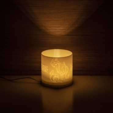 Bal Ganesha Cylendrical table Lamp Table Lamp Bedside Minimalist Desk Lamp