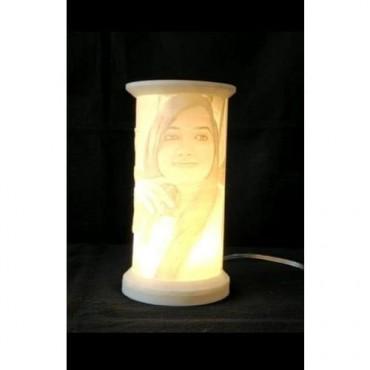 Costomize Cylendrical shaped night lamp