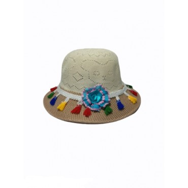 Cap Hat Baby girls summer beach hat carry anywhere