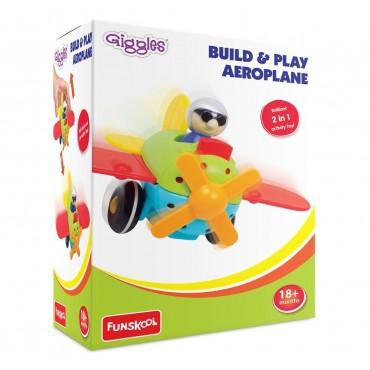 Giggles - 9532400 Build and Play Aeroplane